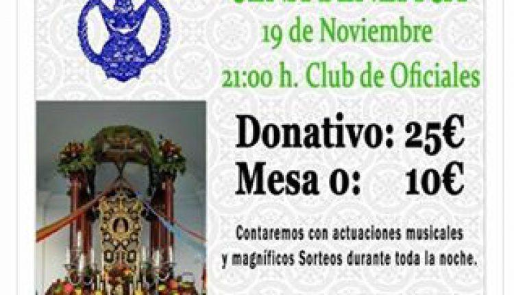 Hermandad Castrense – Cena benéfica