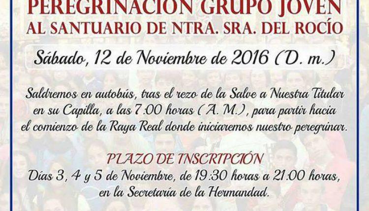 Hermandad de Olivares – Peregrinación Grupo Joven al Rocío