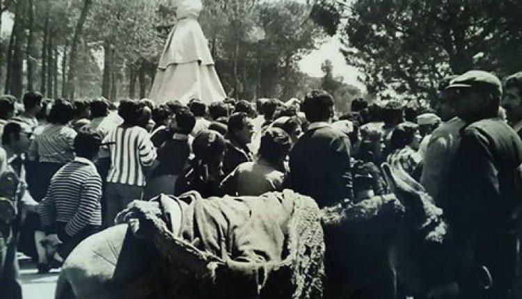 Una foto del Traslado de 1978 por Javi El Almonteño