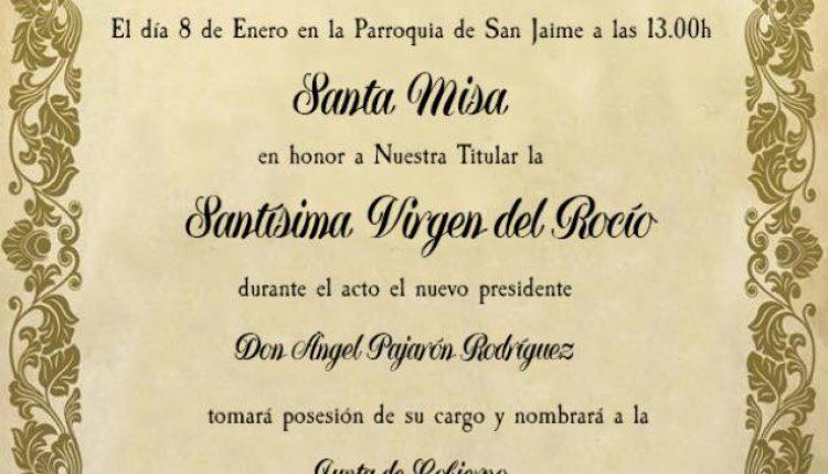 Hermandad de Barcelona – Santa Misa y Toma de Posesión del Nuevo Presidente