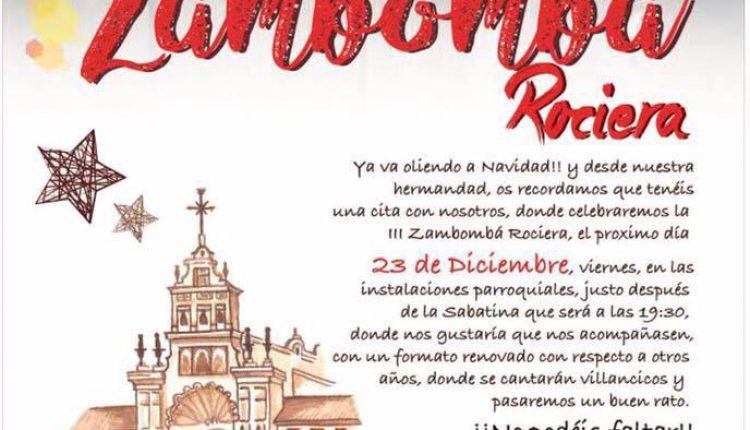 Hermandad de Castillo de Locubín – III Zambomba Rociera