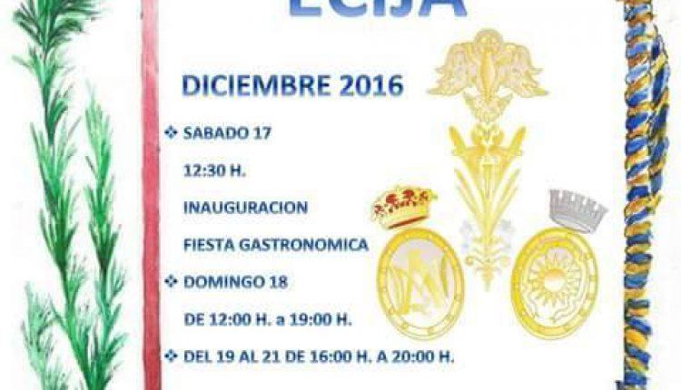 Hermandad de Écija – Rastrillo Benéfico 2016