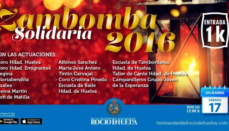 Hermandad de Huelva – Zambomba Solidaria 2016