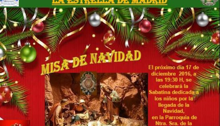 Hermandad de La Estrella – Misa de Navidad 2016