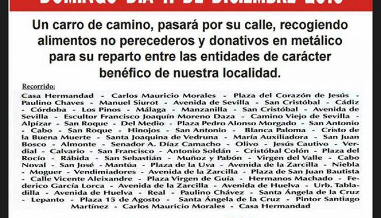 Hermandad de La Palma – Campaña de Navidad 2016