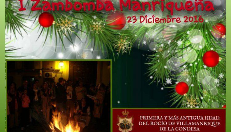 Hermandad de Villamanrique – I Zambomba Manriqueña