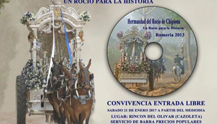 Hermandad de Chipiona – Presentacion del Disco : Un Rocio para la Historia
