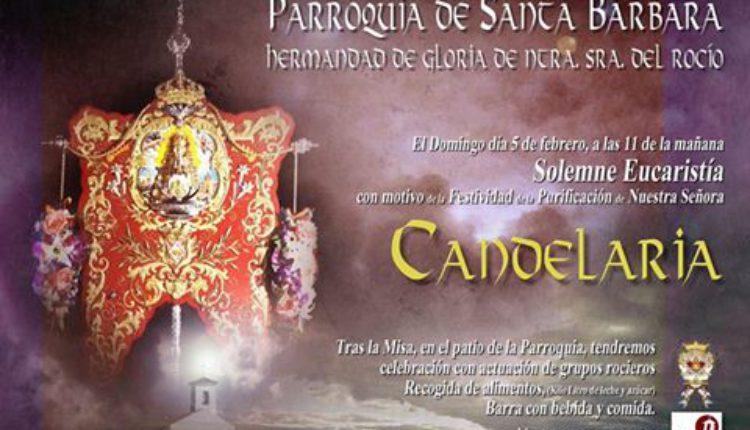 Hermandad de Linares – Solemne Eucaristía con motivo de la Candelaria