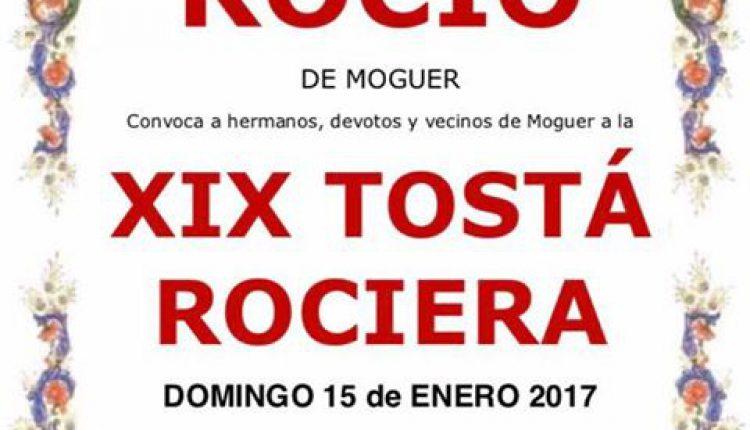 Hermandad de Moguer – XIX Tostá Rociera