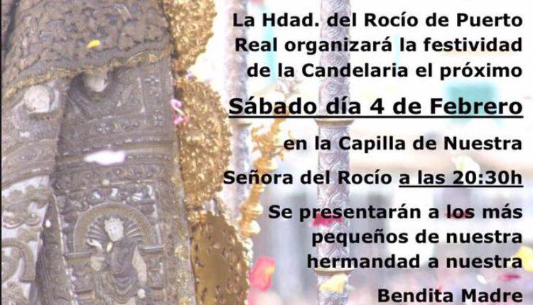 Hermandad de Puerto Real – Candelaria 2017