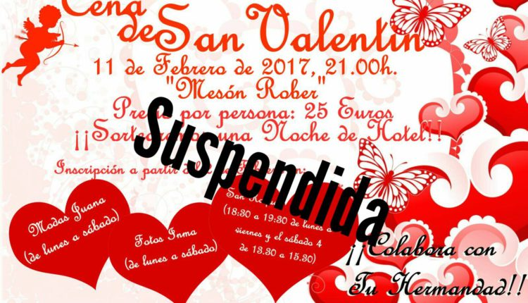 Hermandad de Villarrasa – Cena de San Valentín