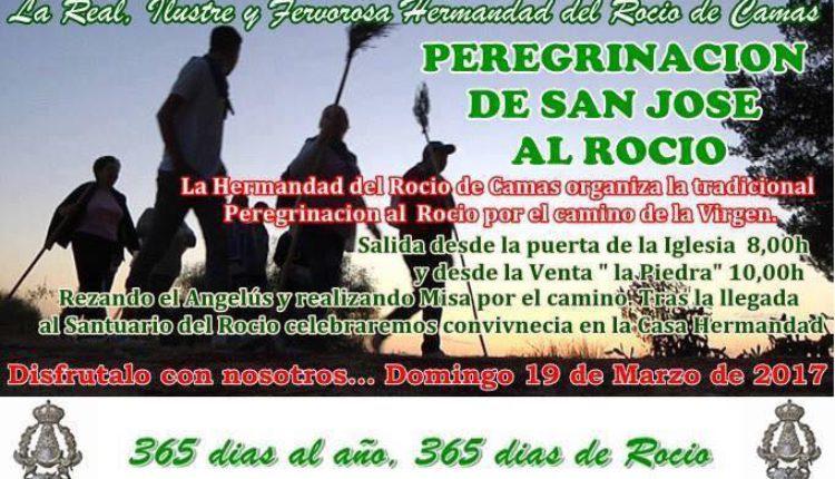 Hermandad de Camas – Peregrinación de San José al Rocío