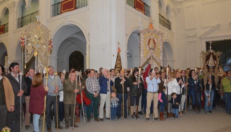 Peregrinaciones Extraordinarias de la Hermandades del Rocío el domingo 19 de marzo de 2017