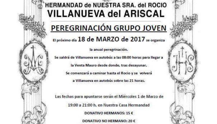 Hermandad de Villanueva del Ariscal – Peregrinación Grupo Joven