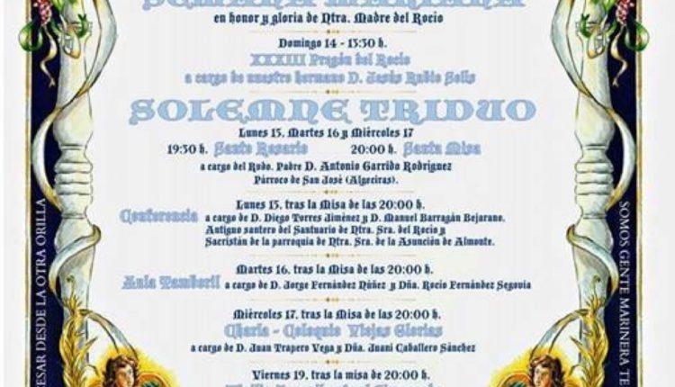 Hermandad de Algeciras – Semana Mariana  y Solemne Triduo