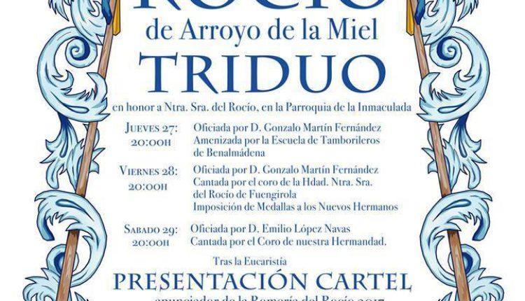 Hermandad de Arroyo de la Miel – Solemne Triduo 2017