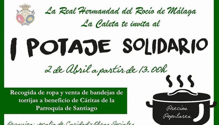 Hermandad de Málaga La Caleta – I Potaje Solidario