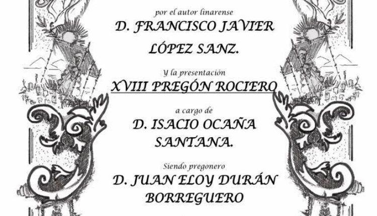 Hermandad de Linares – XVIII Pregón Rociero a cargo de D.  Juan Eloy Durán