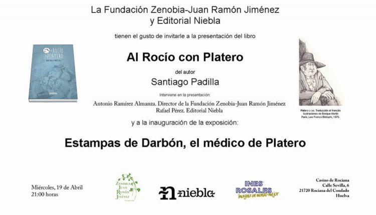 """Presentación del libro """"Al Rocío con Platero"""" de Santiago Padilla en Rociana"""