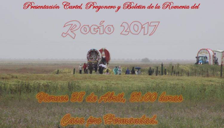 Agrupación Parroquial de Ntra. Sra. del Rocío de El Cuervo – Cartel anunciador de la Romería del Rocío 2017
