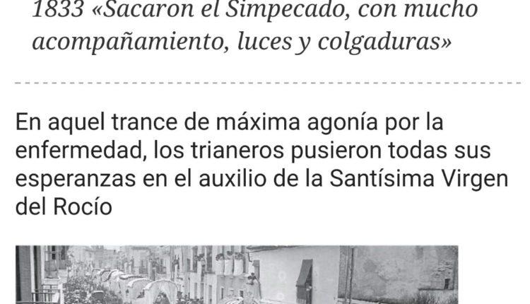 Triana en tiempos de cólera por Julio Mayo
