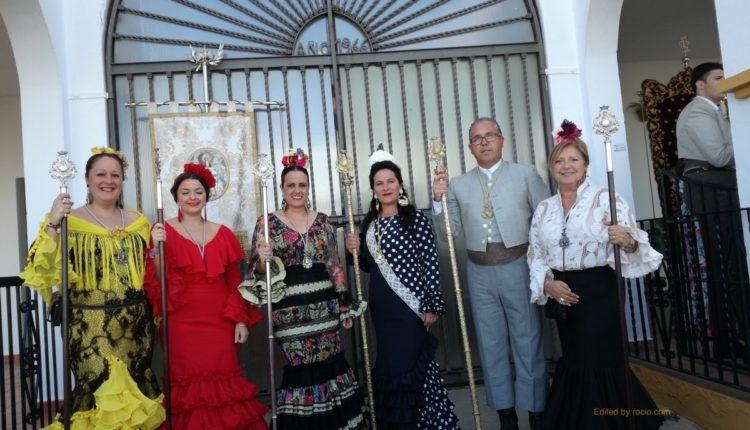Hermandad de Isla Cristina – Ofrenda de Flores a la Virgen de La Bella de Lepe