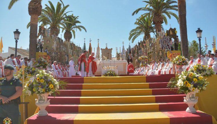 Misa de Romeros en el Rocío, domingo 4 de junio de 2017