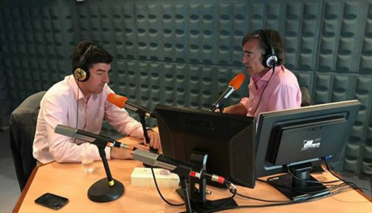 Entrevista a Santiago Padilla en el programa Al-liquindoi de Canal Sur Radio