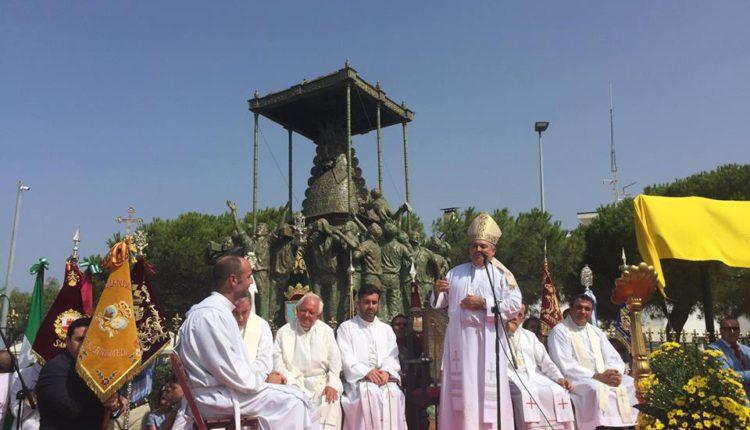 Hermandad de Sanlucar de Barrameda – Inauguración del Monumento a la Virgen del Rocío