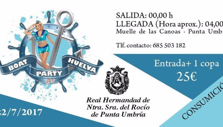 Hermandad de Punta Umbría – Boat Party