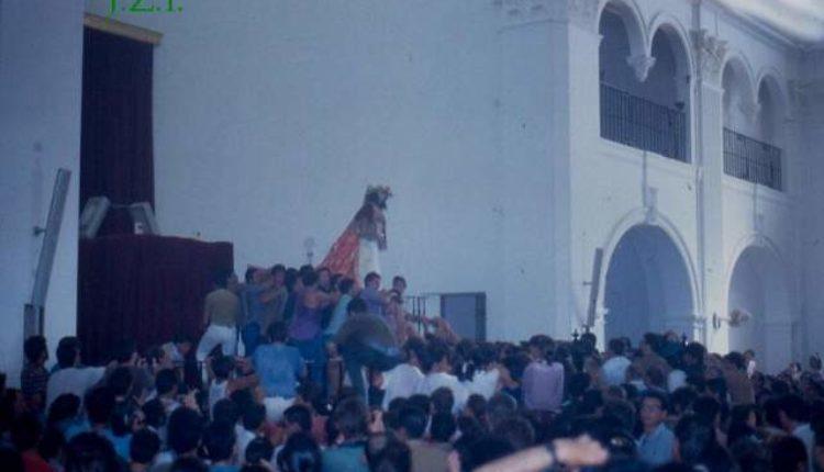 Traslado de la Virgen del Rocío 1991  por Javier Coronel, Javi el Almonteño