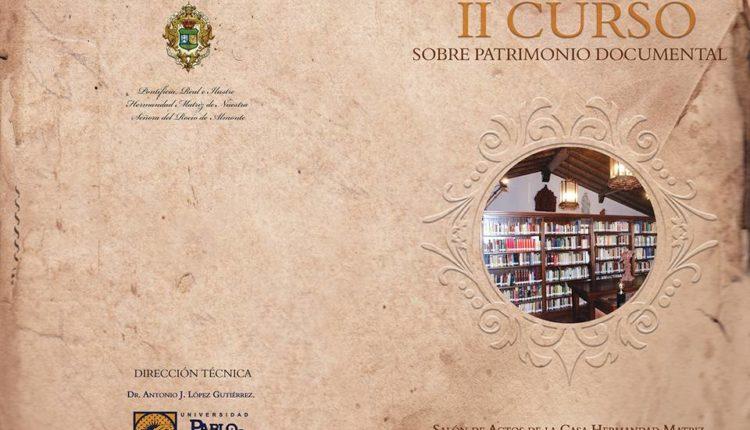 II Curso sobre Patrimonio Documental en Almonte