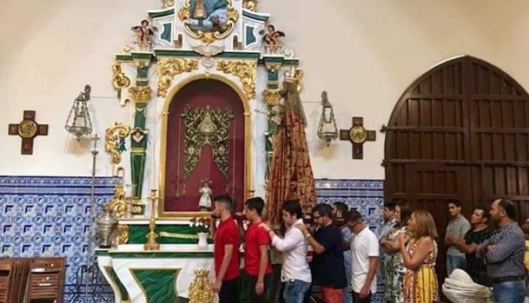 Hermandad de Isla Cristina – Traslado de la Patrona al Altar y Novena