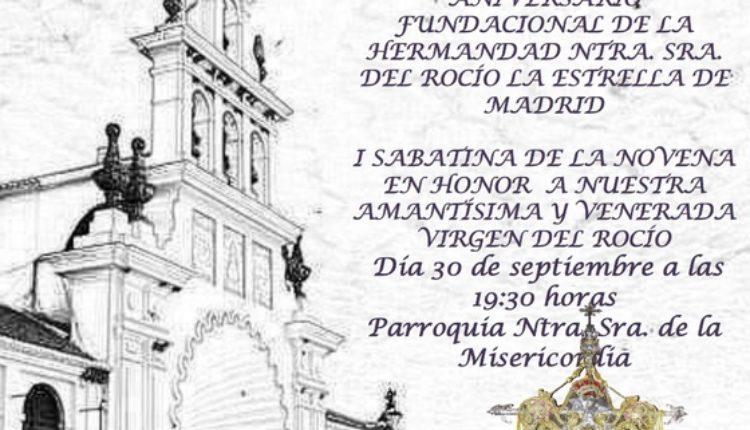 Cierre del XX Aniversario Fundacional de la Hermandad de La Estrella