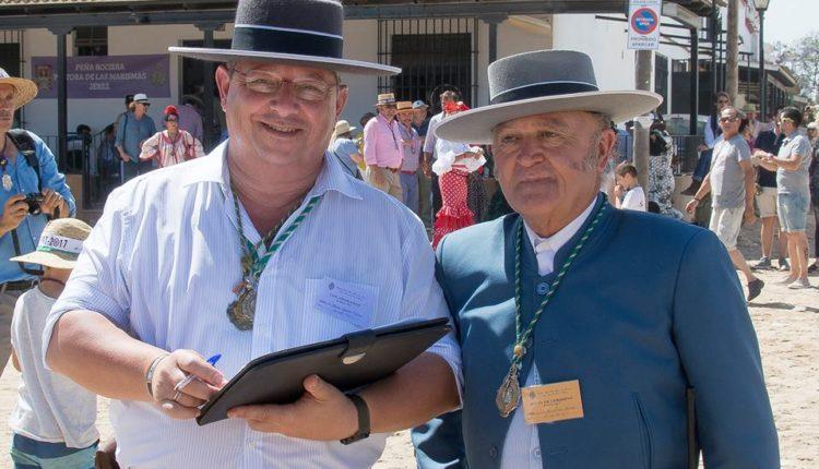 Hermandad de Antequera – D. JOSÉ MANUEL PÉREZ MARTÍNEZ y D. MANUEL ROMERO TRIVIÑO como Pregoneros del Rocío 2018