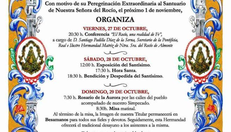 Hermandad de Olivares – Actos con Motivo de su Peregrinación Extraordinaria 2017