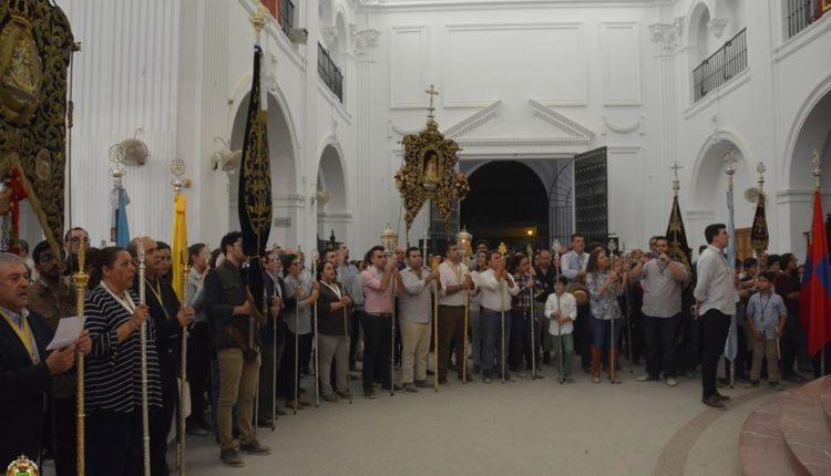 Rosario de Hermandades del Rocío del sábado 14 de octubre de 2017