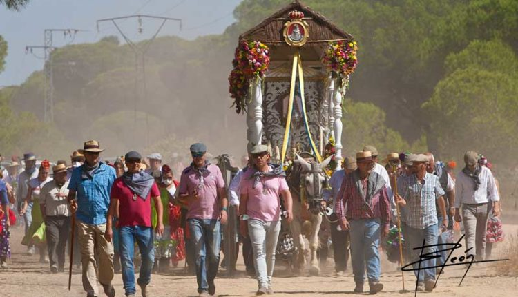 Peregrinaciones Extraordinarias de las Hermandades del Rocío del domingo 25 de octubre de 2020