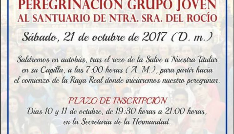 Hermandad de Olivares – Peregrinación del Grupo Joven al Rocío