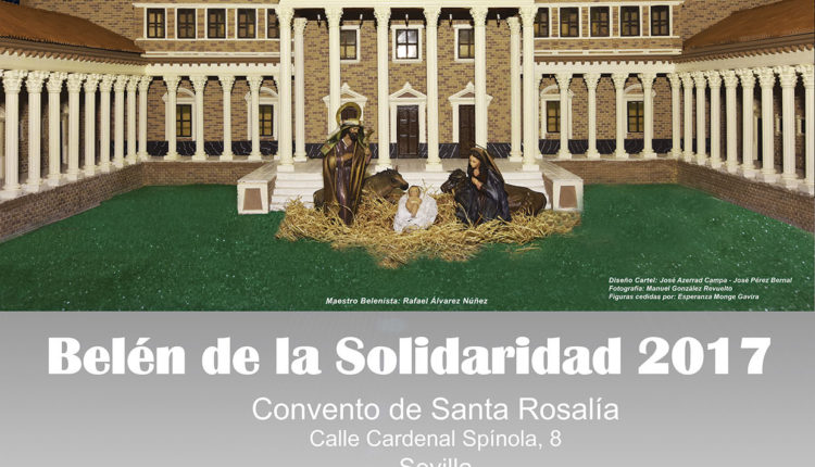 Asociación Belén de la Solidaridad y las Asociaciones de Trasplantados de Sevilla organizan la 16ª edición del Belén de la Solidaridad