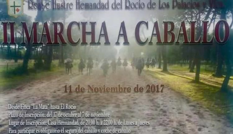 Hermandad de Los Palacios-Villafranca – II Marcha a Caballo