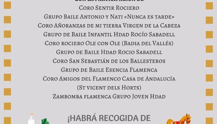 Hermandad de Sabadell – V FESTIVAL BENÉFICO DE VILLANCICOS