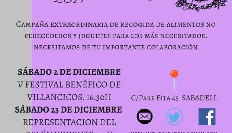 Hermandad de Sabadell – Navidad Solidaria