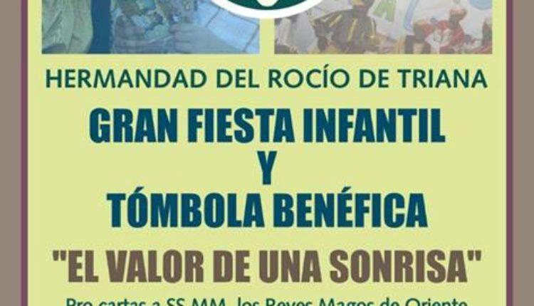 Hermandad de Triana – Fiesta Infantil y Tómbola Benéfica