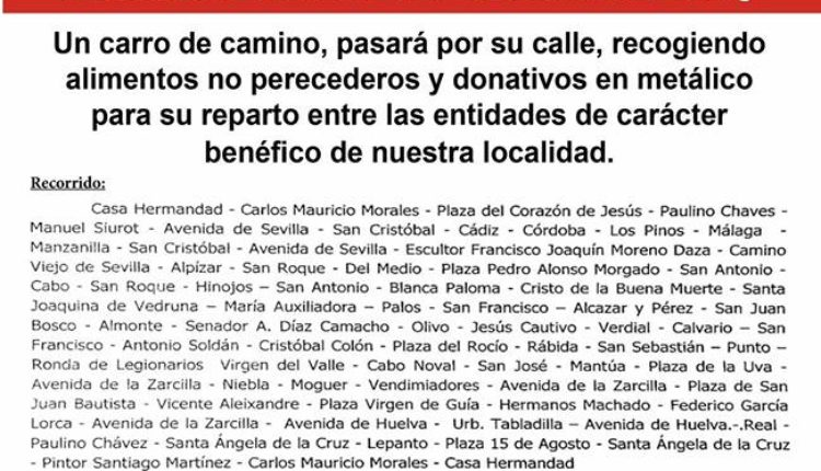 Hermandad de La Palma – XIX Campaña de Navidad