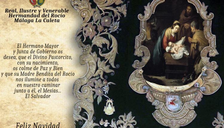 Hermandad de Málaga La Caleta – Felicitación de Navidad