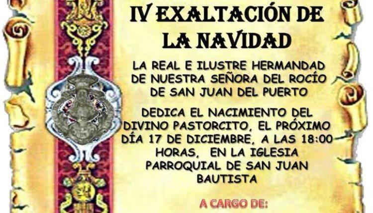 Hermandad de San Juan del Puerto – IV Exaltación de la Navidad