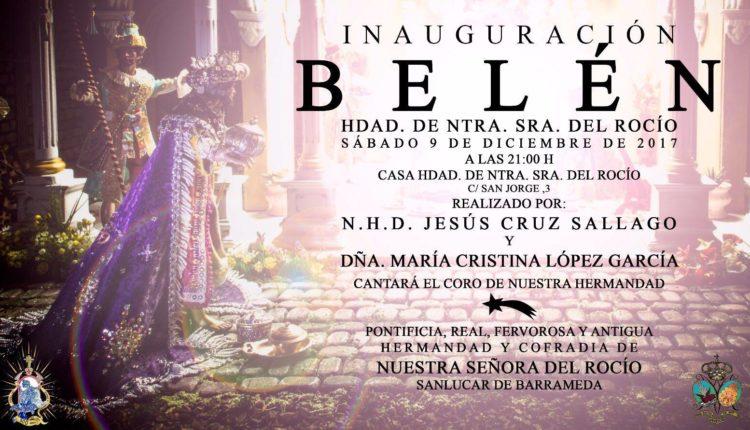 Hermandad de Sanlúcar de Barrameda – INAUGURACIÓN DEL BELÉN