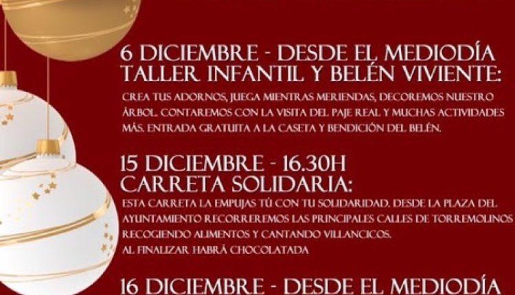 Hermandad de Torremolinos – Carreta Solidaria y Zambombá Rociera este fin de semana en Torremolinos