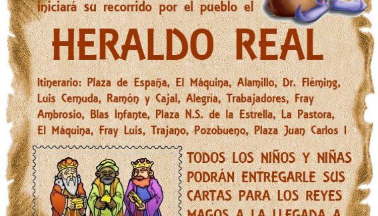 Hermandad de Valencina – Llegada del Heraldo Real